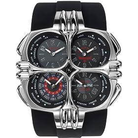 TIMBERLAND (ティンバーランド) 腕時計 BELLEVIE ベルビー フォーアイズ シルバー QT8159101メンズ [正規輸入品]