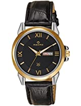 Maxima Analog Black Dial Men's Watch - 26343LMGT