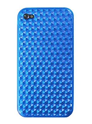 4-OK by Blautel Case für iPhone 4 (Blau)