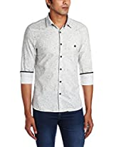 Peter England Men's Casual Shirt