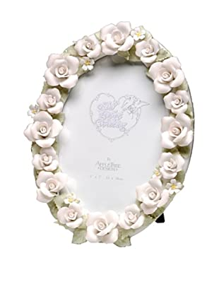 Perfect Wedding Fire & Ice Rose Porcelain Photo Frame, 5