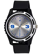 Fastrack Casual Analog Silver Dial Men's Watch - 3114PP02