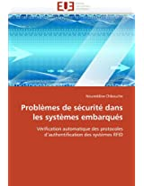 Problemes de Securite Dans Les Systemes Embarques (Omn.Univ.Europ.)