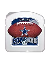 ICUP NFL Dallas Cowboys Sandwich Box, Multicolor
