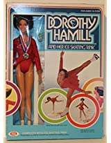 1977 Poseable Olympic Champion Dorothy Hamill Doll And Her Ice Skating Rink