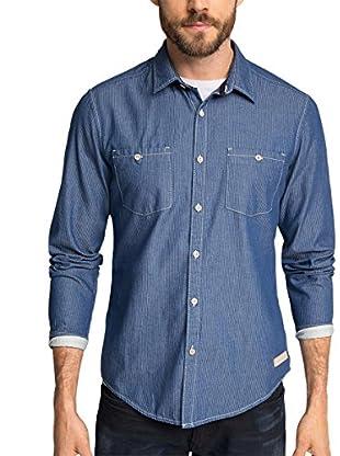 edc by Esprit Camicia Uomo Dobby Shirt