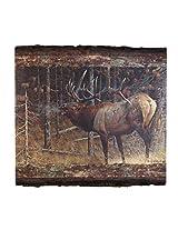 Walnut Hollow InGrained Art -  A Hunter's Dream by Carl Brenders (Wall Art on Wood Panel)
