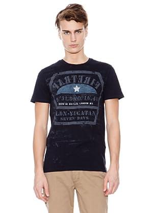 Firetrap Camiseta Yucatan (Negro)