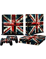 Mod Freakz Ps4 Console And Controller Vinyl Skin Decal Blue Red White Flag