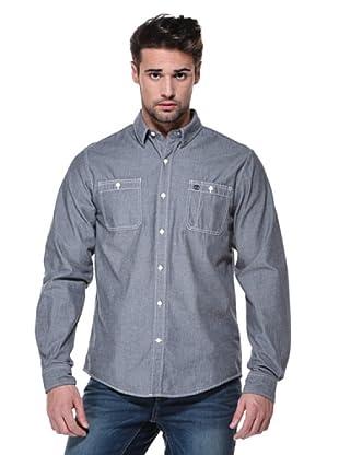 Timberland Camisa Chambray (Gris)