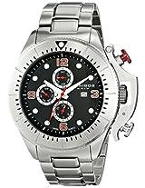Akribos XXIV Men's AK724SSB Grandiose Analog Display Swiss Quartz Silver Watch