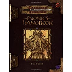 Psionics Handbook, Third Edition: Dungeons &amp; Dragons Accessory (D&amp;D Accessory)