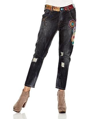 Desigual Pantalón Chirimoya (Jeans Oscuro)