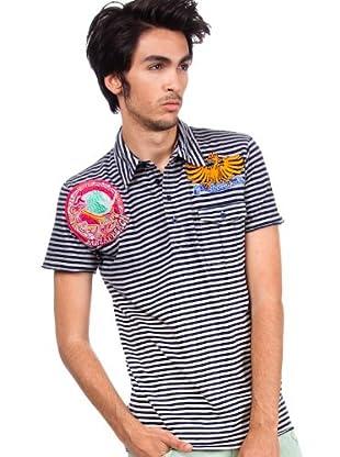 Custo Poloshirt Kodak (Marineblau)