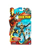 "Iron Man 6"" Action Figure Black And Gold Mark V"