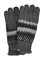 Isotoner Women's Knit SmarTouch Gloves, Oxford Pattern