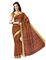 Suhanee Cotton Traditional Saree (Dulhan 1035 _Yellow)
