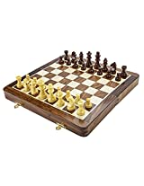 Chess Board/Set - Sheeshamwood Chess Board - CNC-MT-1 - By CHESSNCRAFTS