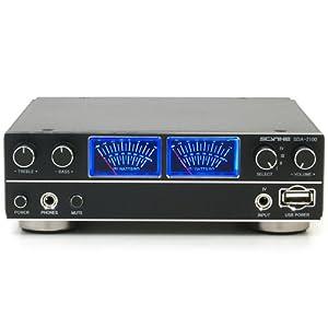 サイズ デジタルオーディオアンプ 鎌ベイアンプ2000 Rev.B 4系統入力 SDAR-2100-BK