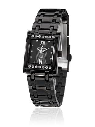 Yves Camani Reloj Calais Swarovski Negro
