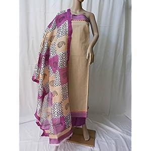Ala Creations Handloom Cotton Dress Material