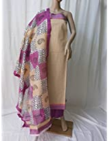 Ala Creations Handloom Cotton Dress Material