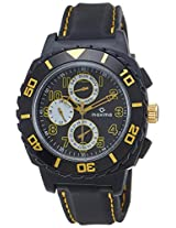 Maxima Fiber Analog Black Dial Men's Watch - 31161PPGN