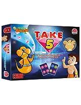 Madrat Games Chhota Bheem Take 5, Multi Color
