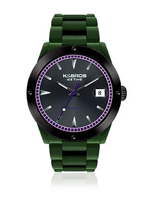 K&BROS Reloj 9556 (Verde)