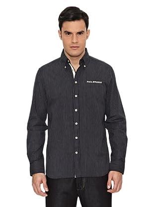 Camisa Dixie (Blanco / Negro)