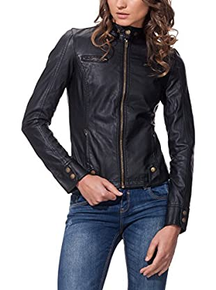 MILLENIUM Chaqueta Biker With Tab Collar