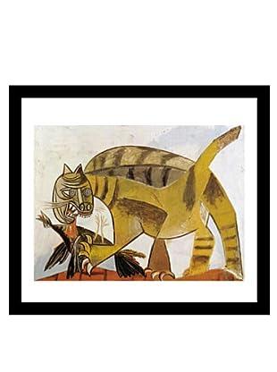 Picasso Cat Devouring a Bird 1939