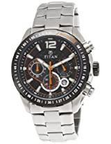 Titan Octane Analog Black Dial Men's Watch - 9447KM01J