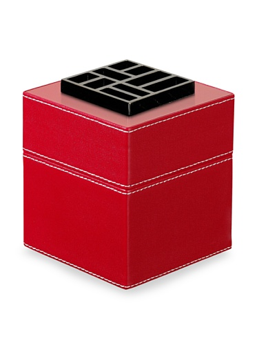 Easy Scent by Lampe Berger Red Leather Fragrance Diffuser Cube