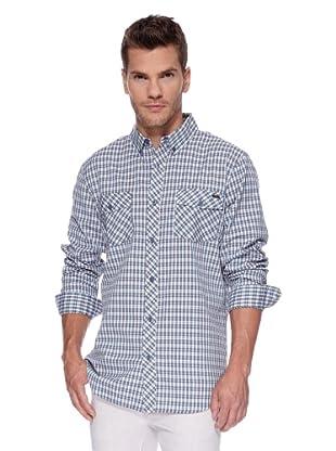 ANALOG Camisa Wallace (Azul)