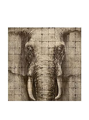 COLONIAL CHIC Holztafel Elephant