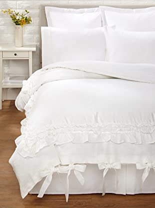 Amity Home Bailey Duvet Cover (White)
