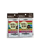 amiibo card protection sleeve (3 pieces pack set of two)