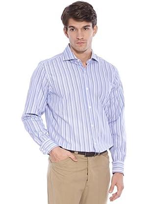 Hackett Camicia Righe (Blu/Bianco/Marrone)