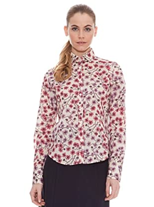 Vilagallo Camisa Flores (Rosa / Lila)