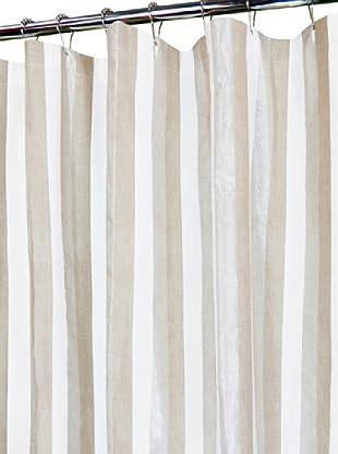 Park B. Smith Ottavia Shower Curtain, Linen/White, 72