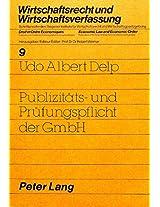 Publizitaets- Und Pruefungspflicht Der Gmbh
