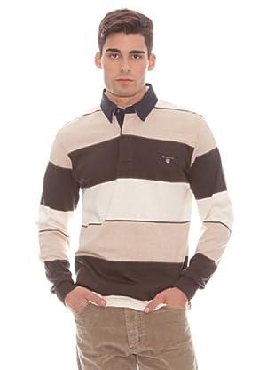 Gant Polo Rayas (marrón)