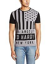 Ed Hardy Men's Polycotton T-Shirt
