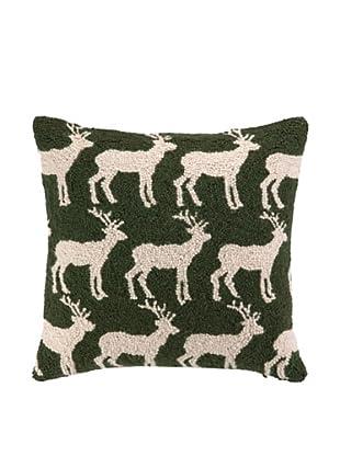 Peking Handicraft Hook Pillow (So Many Deer)