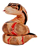 Rinconada F356 Baby Snake Collectible Figurine, Ceramic, 3-Inch Tall