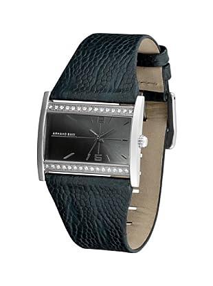 ARMAND BASI A0081L34 - Reloj de Señora movimiento de cuarzo con correa de piel Antracita