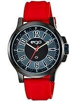 Maxima Ego Analog Black Dial Men's Watch - E-01188PAGB