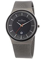 Skagen End of Season Analog Black Dial Men's Watch - 234XXLT