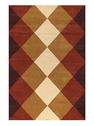 DAC Alfombra Burgundy Grid 170 x 240 cm, diseñada por Atelier